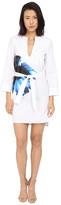 DSQUARED2 Cotton Poplin Hibiscus Dress