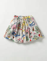 Boden Twirly Printed Skirt