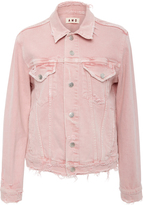 Amo Vintage Stretch Pink Denim Jacket