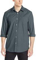 Volcom Men's Everett Solid Long-Sleeve Shirt
