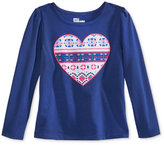 Epic Threads Mix and Match Tribal Heart Graphic T-Shirt, Toddler & Little Girls (2T-6X), Only at Macy's