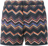 Missoni Blue multi zigzag swim shorts - men - Polyamide - S
