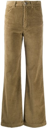 Masscob Corduroy Wide-Leg Trousers