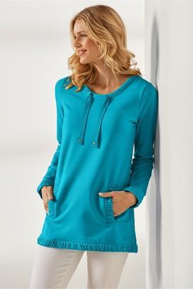 Soft Surroundings Women Just Peachy Sweatshirt