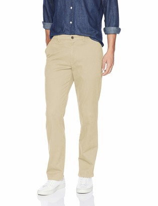 Amazon Essentials Men's Straight-Fit Casual Stretch Khaki