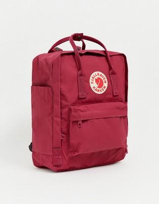 Fjallraven Kanken 16l backpack in plum