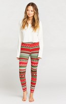 MUMU Long Joans ~ Gingerbread Stripe Thermal