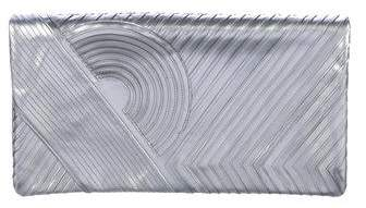 Reed Krakoff Metallic Fold-Over Clutch