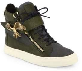 Giuseppe Zanotti Eagle High-Top Sneakers