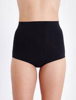 Wolford Control high-rise stretch-cotton briefs