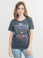Junk Food Clothing The Who Tee-jet Black-m