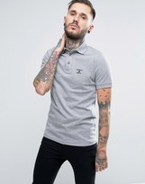 Barbour Polo Shirt With Beacon Logo In Slim Fit
