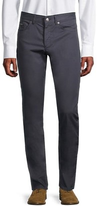 HUGO BOSS Slim-Fit Cotton-Blend Pants
