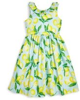 Oscar de la Renta Toddler's, Little Girl's & Girl's Painted Lemon Capri Dress