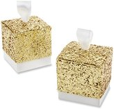"Kate Aspen All That Glitters"" Gold Favor Box, Set of 24"