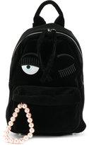 Chiara Ferragni Velvet Backpack
