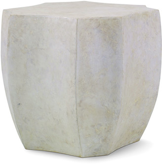 Century Furniture Palma Cast Stone End Table