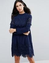 Fashion Union Lace Smock Dress