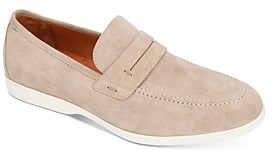 Gentle Souls by Kenneth Cole Men's Stuart Suede Penny Loafers