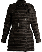 Burberry Chesterford mid-length quilted coat
