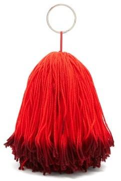 Calvin Klein Wkaa16 Tassel Belt Charm - Womens - Red Multi