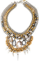 Assad Mounser Two-tone Multistrand Necklace