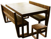 Lazy Boy 5 Piece Outdoor Table Set Variant: 10 Seater