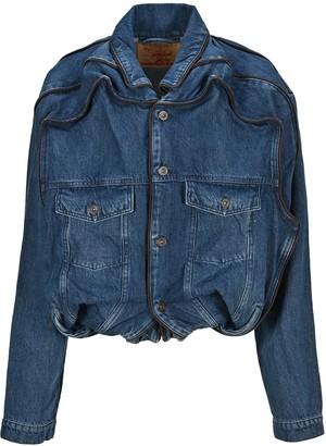 Y/Project Pop-Up Detailed Denim Jacket