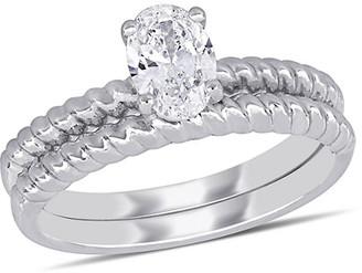 Diamond Select Cuts 14K White Gold 0.70 Ct. Tw. Diamond Ring
