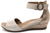 Earth Hera Light gold Sandals Womens Shoes Casual Heeled Sandals