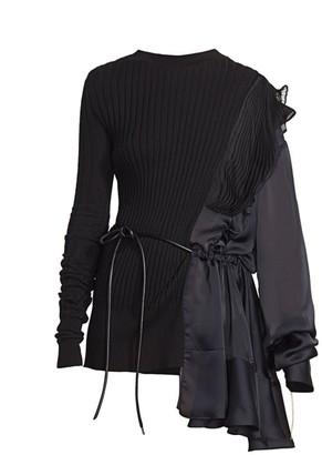 Sacai Combo Knit Pullover