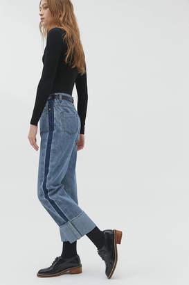 CAARA Mid-Rise Straight Leg Jean