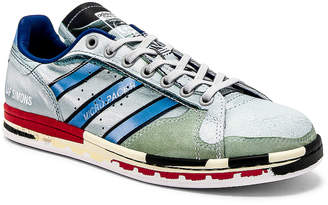 Adidas By Raf Simons Micro Stan Sneaker in White & Multi | FWRD