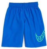 Nike Boy's Core Swoosh Swim Trunks
