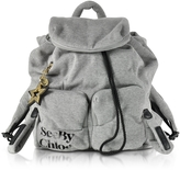 See by Chloe Joy Rider Gray Viscose Backpack