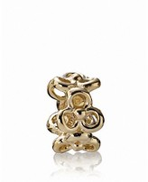 Pandora Spacer - 14K Gold Trinity, Moments Collection