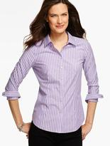 Talbots The Perfect Long-Sleeve Shirt - Stripes