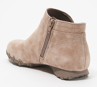 Skechers Suede Ankle Boots - Bikers