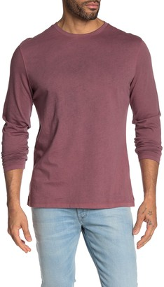 Robert Barakett Crew Neck Long Sleeve Shirt