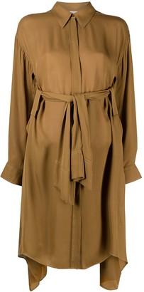 Dorothee Schumacher Fluid Luxury silk shirt dress