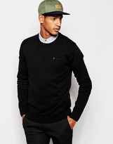 Esprit Cotton Crew Neck Knitted Jumper - Black