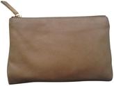 Fendi Camel Leather Clutch bag