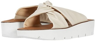 Paul Green Alicia Wedge (Biscuit Leather) Women's Wedge Shoes