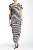 James Perse Tucked Maxi Dress
