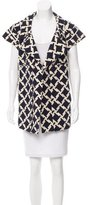 Marni Geometric Patterned Vest