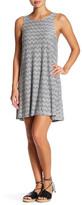 Angie Textured Knit Swing Tank Dress