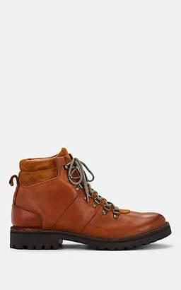 Eleventy Men's Leather & Suede Hiker Boots - Med. brown