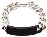 Maison Margiela plaque chain bracelet