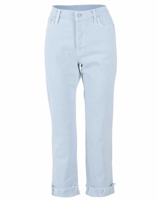Mother Baby Blue The Scrapper Ankle Fray Jean