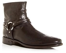 John Varvatos Collection Men's Eldridge Leather Harness Boots